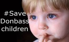 save Donbass children