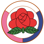 Emblem of Korean Social Democratic Party.svg