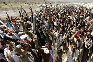 Yemen's Houthis claim to take positions in Saudi Arabia – Middle ...