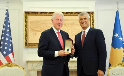 Kosovo Honors Bill Clinton with Freedom Order | Voice of America ...