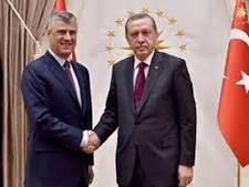 Presidency Of The Republic Of Turkey : President Erdoğan Receives Deputy PM  Thaçi of Kosovo