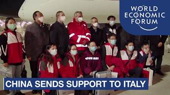 China sends Coronavirus experts and equipment to Italy | COVID-19 - YouTube